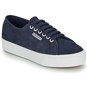 Sko Dame Lave sneakers Superga 2730 SUEU Navy