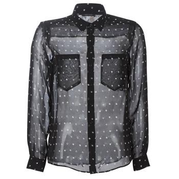 textil Dame Skjorter / Skjortebluser Ikks BP12165-02 Sort