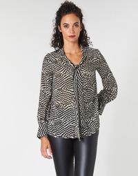 textil Dame Toppe / Bluser Ikks BP13065-02 Beige / Sort