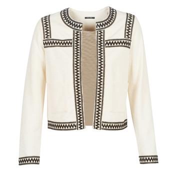 textil Dame Veste / Cardigans One Step MINA Hvid