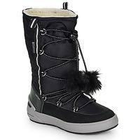 Sko Pige Chikke støvler Geox J SLEIGH GIRL B ABX Sort