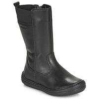 Sko Pige Chikke støvler Geox J HADRIEL GIRL Sort