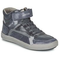 Sko Dreng Høje sneakers Geox J ARZACH BOY Blå / Grå