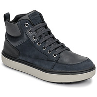 Sko Dreng Høje sneakers Geox J MATTIAS B BOY ABX Blå / Sort