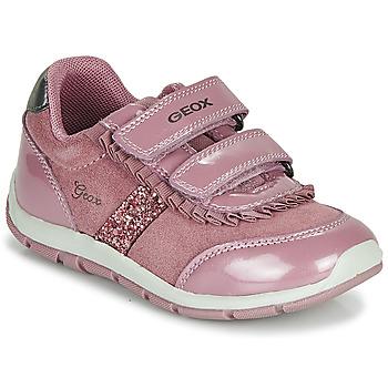 Sko Pige Lave sneakers Geox B SHAAX Pink