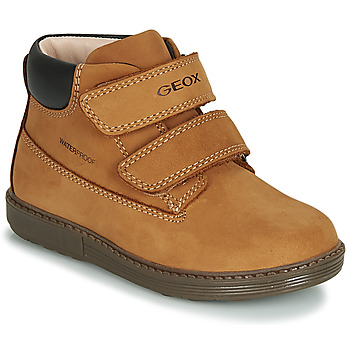 Sko Dreng Høje sneakers Geox B HYNDE BOY WPF Brun