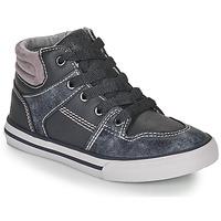 Sko Dreng Høje sneakers Chicco CAMILLO Blå / Grå