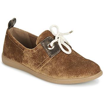 Sko Dame Lave sneakers Armistice STONE ONE Kamel