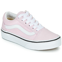 Sko Pige Lave sneakers Vans UY OLD SKOOL Pink