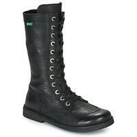 Sko Dame Chikke støvler Kickers MEETKIKNEW Sort