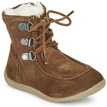 Sko Børn Chikke støvler Kickers BAMARA Kamel