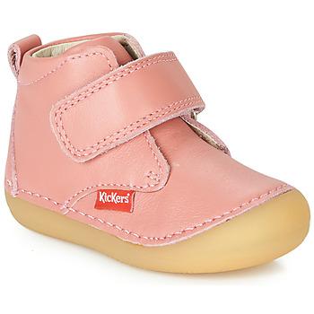 Sko Pige Støvler Kickers SABIO Pink