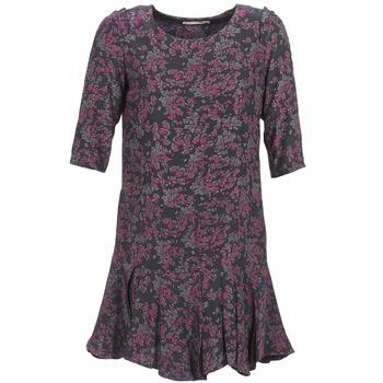 textil Dame Korte kjoler See U Soon BOETICO Sort / Violet
