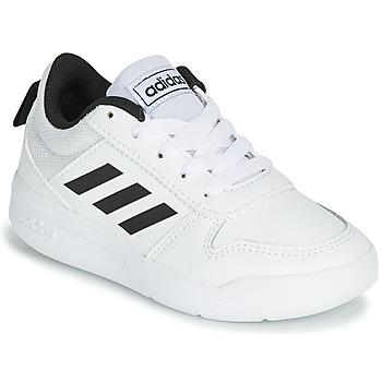Sko Børn Lave sneakers adidas Performance VECTOR K Hvid / Sort
