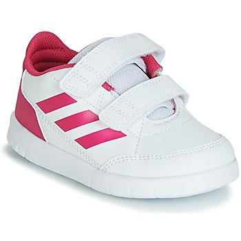 Sko Pige Lave sneakers adidas Performance ALTASPORT CF I Hvid / Pink
