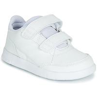 Sko Børn Lave sneakers adidas Performance ALTASPORT CF I Hvid