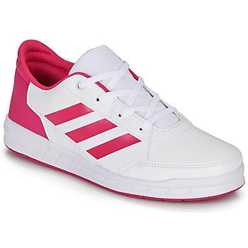 Sko Pige Lave sneakers adidas Performance ALTASPORT K Hvid / Pink