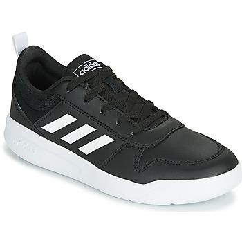 Sko Børn Lave sneakers adidas Performance VECTOR K Sort / Hvid