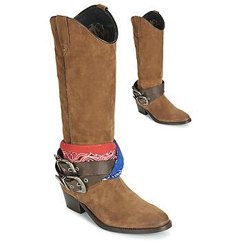 Sko Dame Chikke støvler Replay FRUITLAND Kamel