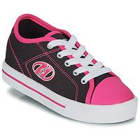 Sko Pige Sko med hjul Heelys CLASSIC X2 Sort / Pink
