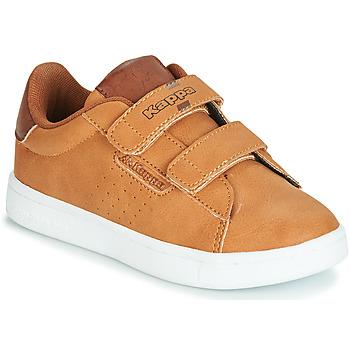 Sko Dreng Lave sneakers Kappa TCHOURI Brun