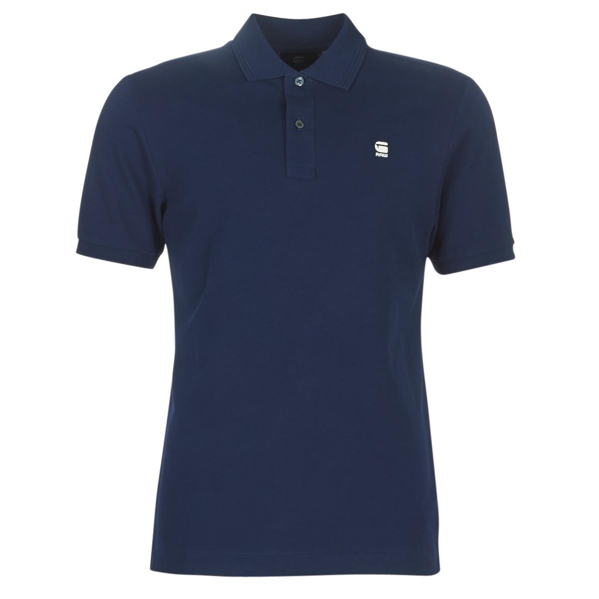 Polo-t-shirts m. korte ærmer G-Star Raw  DUNDA SLIM POLO