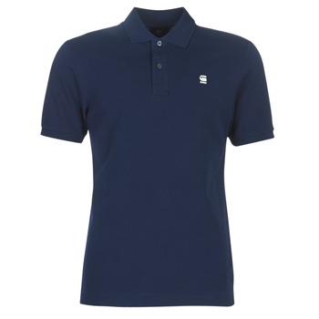 textil Herre Polo-t-shirts m. korte ærmer G-Star Raw DUNDA SLIM POLO Blå