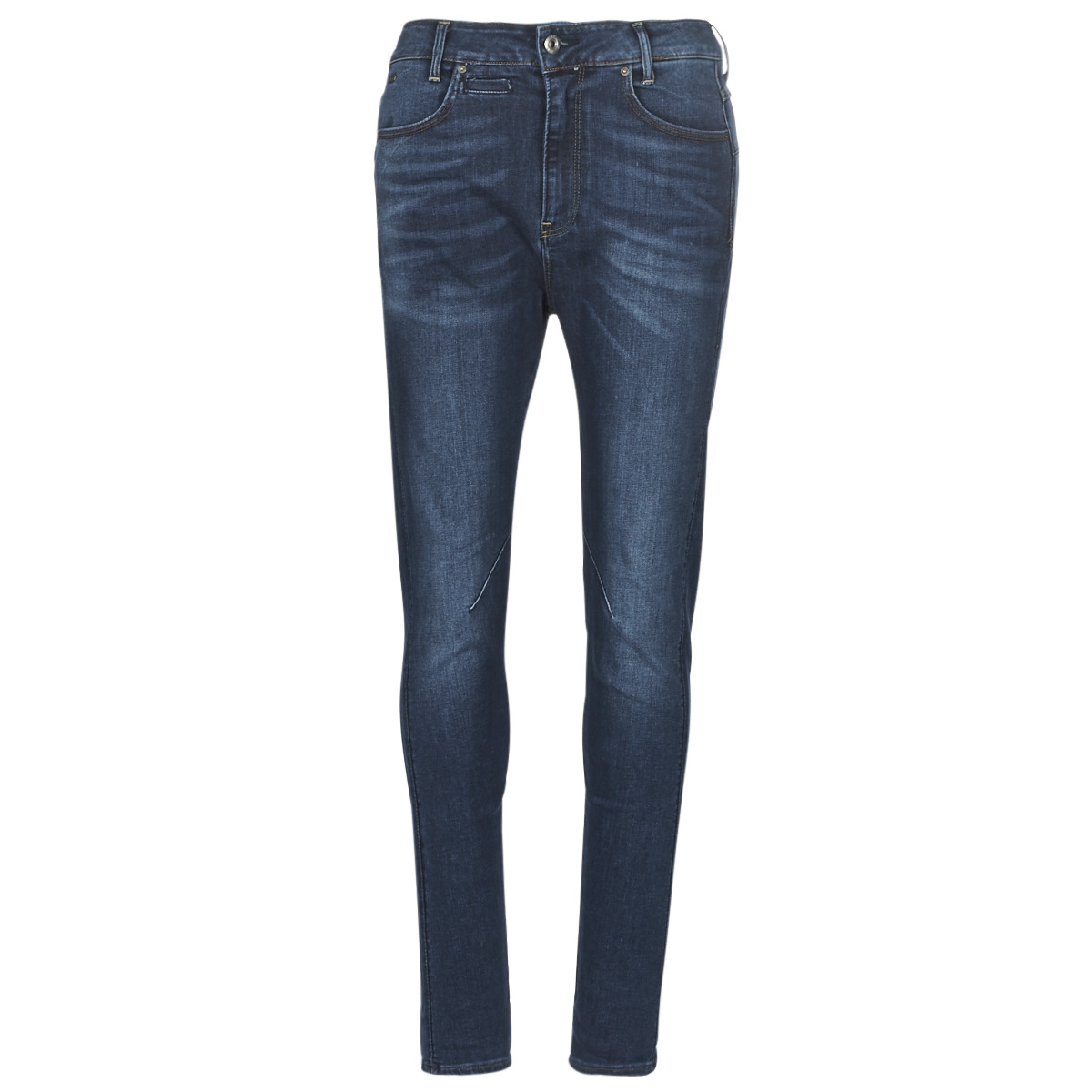 Se Smalle jeans G-Star Raw  D-STAQ MID BOY SLIM ved Spartoo