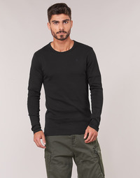 textil Herre Langærmede T-shirts G-Star Raw BASE TEE Sort