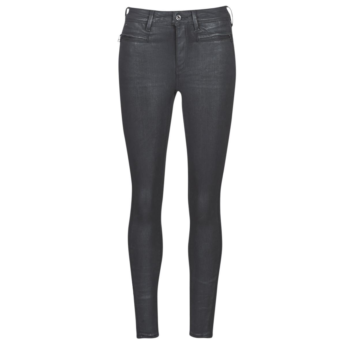 Jeans - skinny G-Star Raw  ASHTIX ZIP HIGH SUPER SKINNY ANKLE WMN