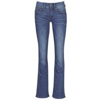 textil Dame Bootcut jeans G-Star Raw MIDGE MID BOOTCUT WMN Blå / Bleget / Blå