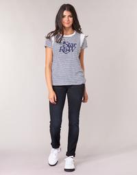 textil Dame Lige jeans G-Star Raw MIDGE MID STRAIGHT WMN Blå / Mørk / Ældet