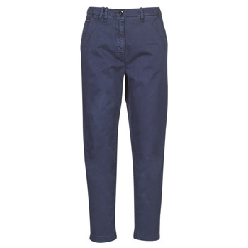 textil Dame Chinos / Gulerodsbukser G-Star Raw PAGE BF CHINO WMN Blå