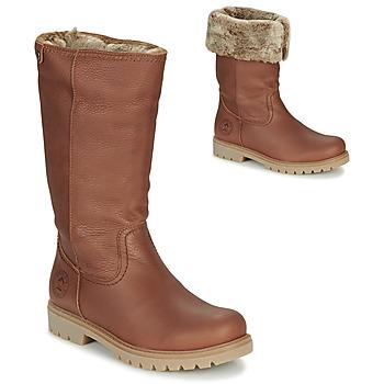 Sko Dame Chikke støvler Panama Jack BAMBINA Brun