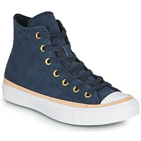 Sko Dame Høje sneakers Converse CHUCK TAYLOR ALL STAR VACHETTA LEATHER HI Marineblå