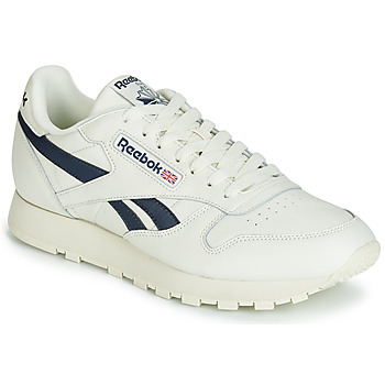 Sko Lave sneakers Reebok Classic CL LEATHER MU Hvid / Sort