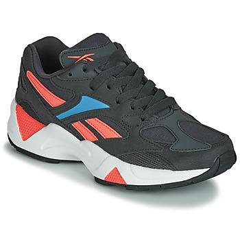 Sko Dame Lave sneakers Reebok Classic AZTREK 96 Sort / Koral