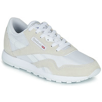 Sko Børn Lave sneakers Reebok Classic CL NYLON J Hvid / Beige