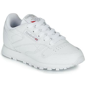 Sko Børn Lave sneakers Reebok Classic CLASSIC LEATHER C Hvid