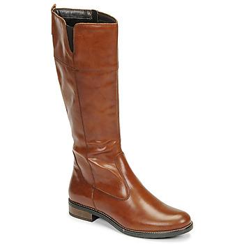 Sko Dame Chikke støvler Tamaris CARI Cognac