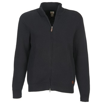 textil Herre Veste / Cardigans Dockers NEW FULL ZIP Sort