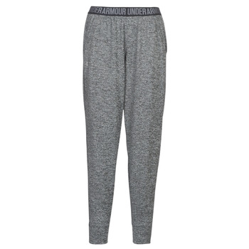 textil Dame Træningsbukser Under Armour PLAY UP PANT TWIST Grå