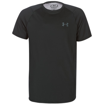textil Herre T-shirts m. korte ærmer Under Armour MK1 SS EU SMU Sort