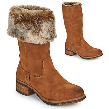 Sko Dame Chikke støvler Rieker 96854-26 Kamel