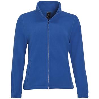 textil Dame Fleecetrøjer Sols NORTH POLAR WOMEN Azul