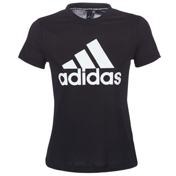 textil Dame T-shirts m. korte ærmer adidas Performance DY7734 Sort