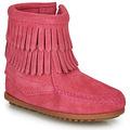 Støvler til børn Minnetonka  DOUBLE FRINGE SIDE ZIP BOOT
