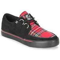 Sko Lave sneakers TUK CREEPER SNEAKERS Sort / Tartan