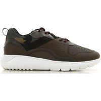 Sko Herre Lave sneakers Hogan HXM3710AQ10JIU737D color Mimetico