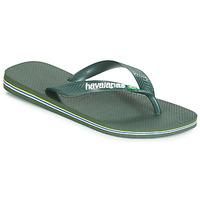 Sko Flip flops Havaianas BRASIL LOGO Oliven